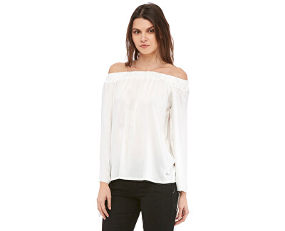Bluza Hatty-White Blusa pentru femei