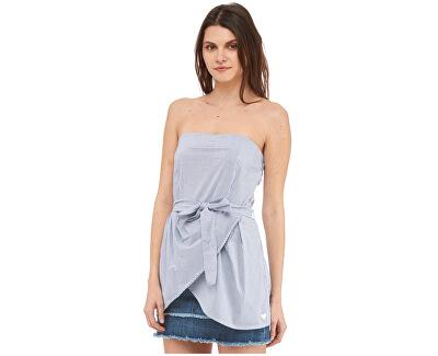Bluza Pearl-Blue Top pentru femei