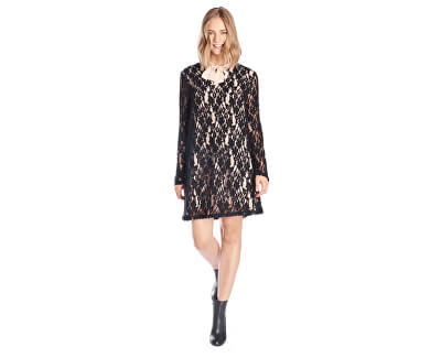 Női ruha Linnet - Black Dress BI188F13H28400