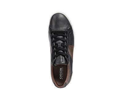 Tenisky Smart Black B Black / Coffee U84X2B-00043-C0630