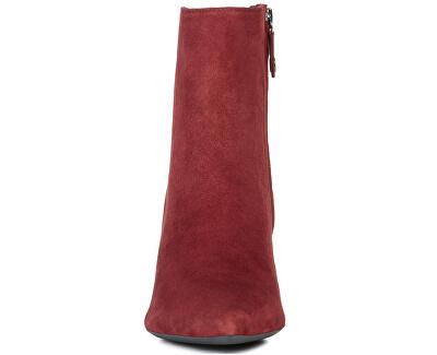 Botine pentru femei D Bibbiana Bordeaux D829CB-00021-C7005