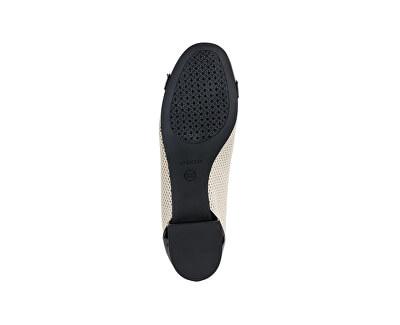 Dámske baleríny Wistrey D Skin/Black D924GD-05402-C8616