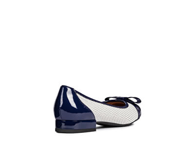 Dámske baleríny Wistrey D White/Cobalt D924GD-05402-C1Z4H