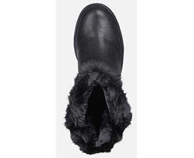 Dámske snehule D Hosmos B Abx Black D84AUC-04611-C9999