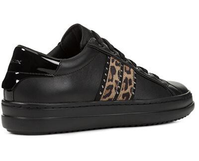 Dámske tenisky D Pontoise Black D94FED-08507-C9999