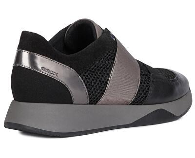 Dámske tenisky D Suzzie Black D94FRD-08822-C9999