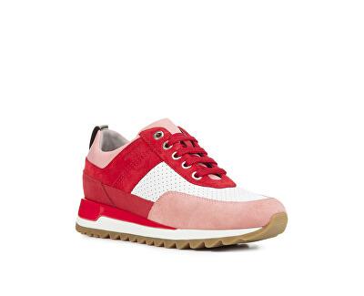Dámske tenisky Tabelya B Red/White D84AQB-02285-C0003