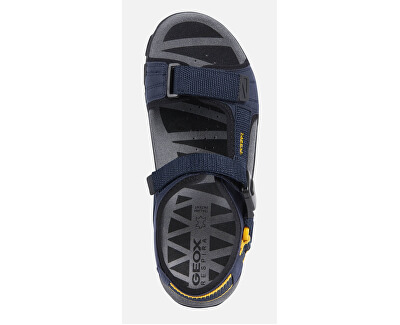 Pánske sandále Uomo Sandal Strada B Navy/Yellow U9224B-000AF-C0657