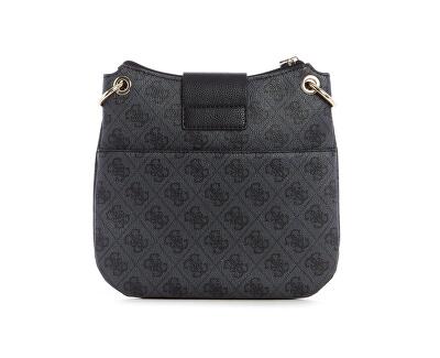 Femeile de crossbody Handbag Women`s Logo Luxe Tourist femei Women`s Logo Luxe Tourist Coal
