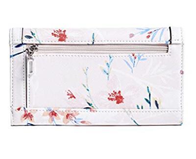 Női pénztárca Factor y Braelynn Flora l- Print Slim Wall et Flora l