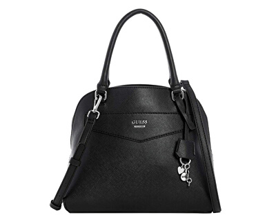 Damenhandtasche Factory Montero Logo Dome Satchel Black