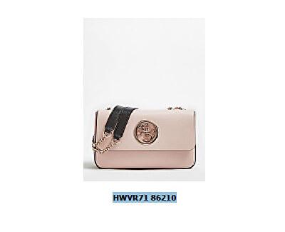 Guess Femeie handbag Open Road Cnvrtble Xbody Flap Blush Multi-Bsm