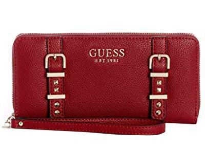 Női pénztárcaEileen Large Zip-Around Wallet Crimson
