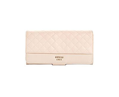 Guess Dámská peněženka Wilson (Resort) File Clutch Wallet Cameo