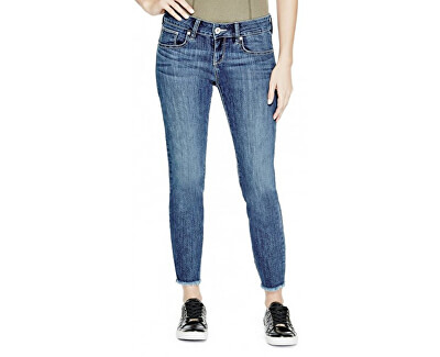 Guess Pantaloni pentru femei Lillie Raw-Hem Ankle Jeans