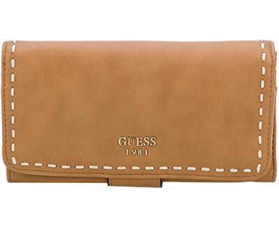 5d6f78ac2 Guess Elegantná dámska peňaženka Julia na FileClutch in Cognac ...