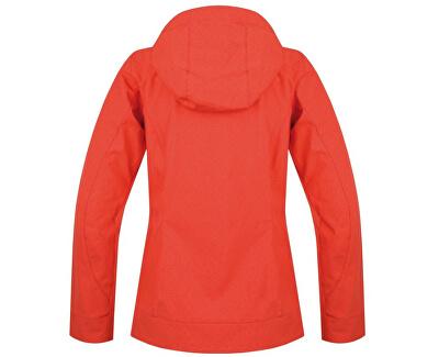 Dámska softsheelová bunda Androma Hot coral