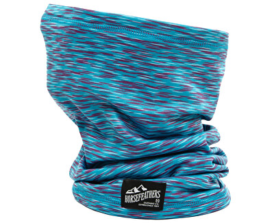 Horsefeathers Cravat Neck Warmer II Blue Melange AA974C