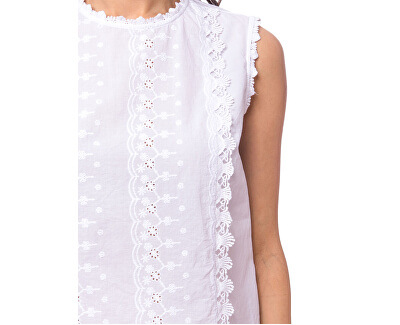 Damenbluse Risello white E2S20467WH
