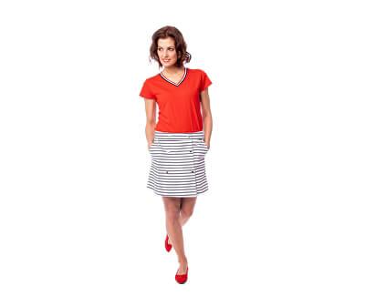 Dámska sukňa Nutty S19-489 Striped