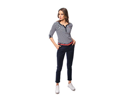 Damen T-Shirt 20 striped C2S20185SD