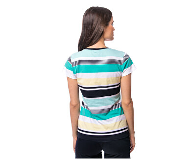 Damen T-Shirt Malma ocean C4S20182OA