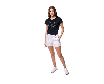 Damen T-Shirt Mindala navy C4S20285NA