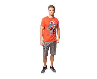 Herren T-Shirt Marda coral C3S20306CL