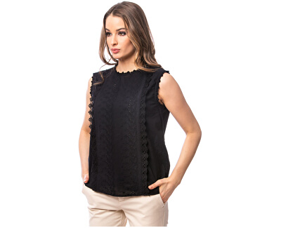 Damenbluse Risello black E2S20467BL