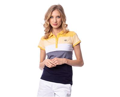 Dámske polo tričkoDali S19-265 Yellow