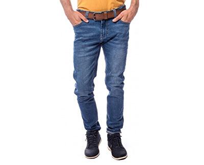 Pánske džínsy Finish19 Indigo W19-406