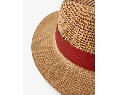 Dámský klobouk PCNORMA 17102038 Camel CHILI OIL