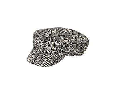 Dámska čiapka PCHAVANNA BAKER BOY HAT BOX Black Checks