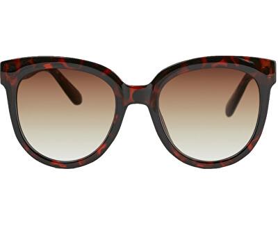 Damen Sonnenbrille PCNAMILLA SUNGLASSES BOX Coffee Bean DARK TURTLE