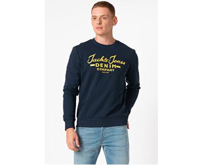 Felpa da uomo JJHERO 12175064 Navy Blazer
