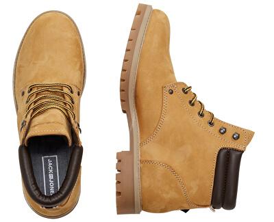 Pánske členkové topánky JFWSTOKE NUBUCK BOOT HONEY Noosa Honey