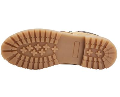Pánské kotníkové boty JFWSTOKE NUBUCK BOOT HONEY NOOS Honey
