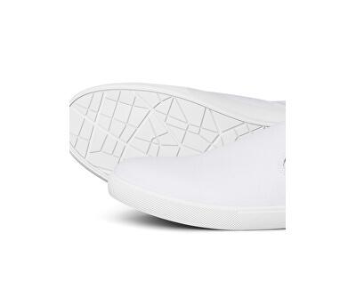 Férfi Slip-On JFWROWDEN CANVAS SLIP WHITE PRE White