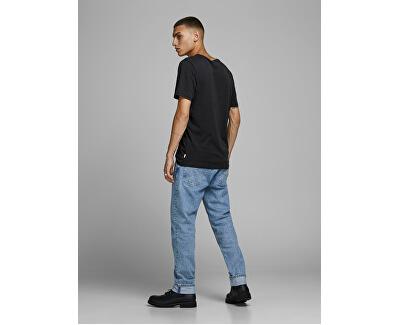 T-shirt da uomo JJEORGANIC BASIC TEE 12156101 Black SLIM