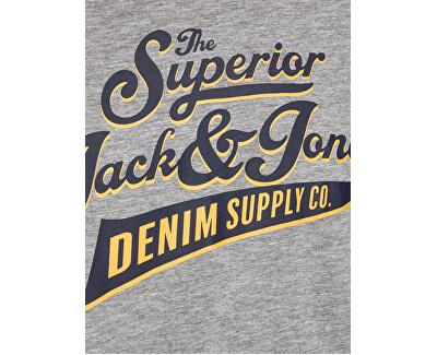 T-shirt da uomo JJERAGLAN LOGO TEE 12172365 Black