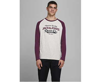 T-shirt da uomo JJERAGLAN LOGO TEE 12172365 Port Royale