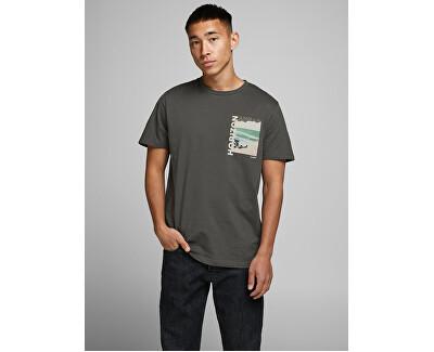 Herren T-Shirt JORFADING TEE SS CREW HALS Asphalt REG
