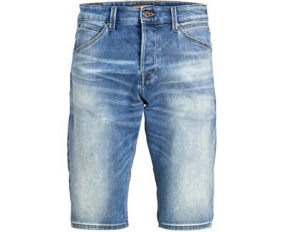 Herren Shorts JJIREX JJLONG SHORTS GE 023 IK Blue Denim