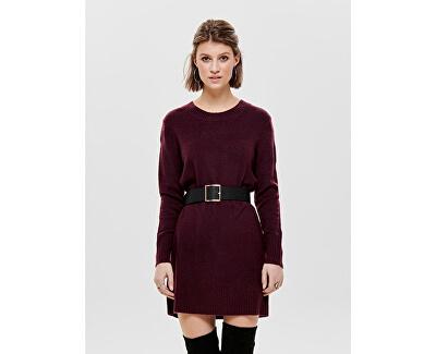 Dámske šaty Gold L / S Dress Knit Wine tasting