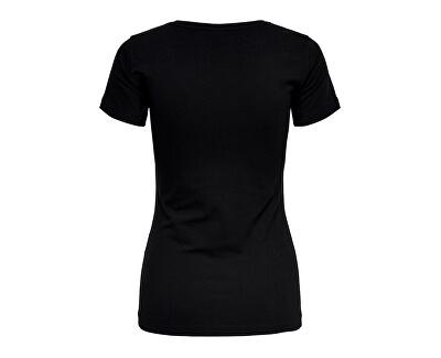 Női póló Ava Ss felső Jrs Noos Black