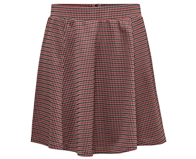 Dámska sukňa JDYHALEY SKIRT JRS Natural Checks