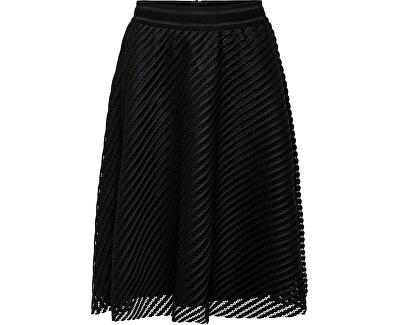 Dámska sukňa JDYOGGI WIDE SKIRT WVN Black
