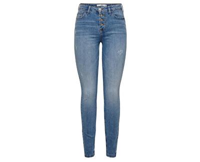 Dámske skinny džínsy JDYJONA 15191016 Light Blue Denim