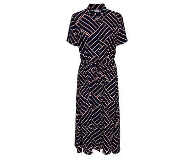 Dámske šaty JDYWIN Treats S / S LONG DRESS WVN Sky Captain