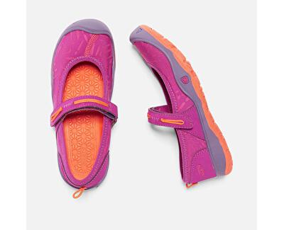 Detské topánky Moxie Mary Jane Purple Wine/Nasturtium KIDS